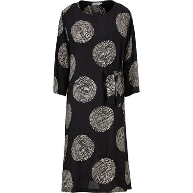Masai NONIE Black Dotted Dress