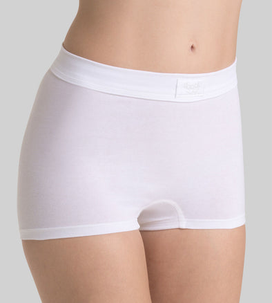 Sloggi Double Comfort White Shorts
