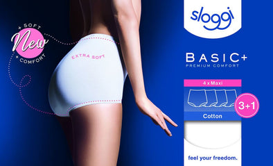 Sloggi Basic Maxi White 4 Pack