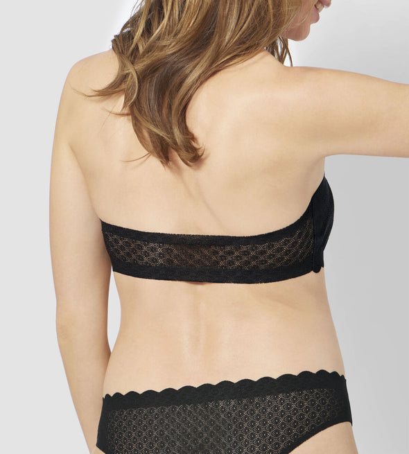 Sloggi ZERO Feel Lace Black Bandeau
