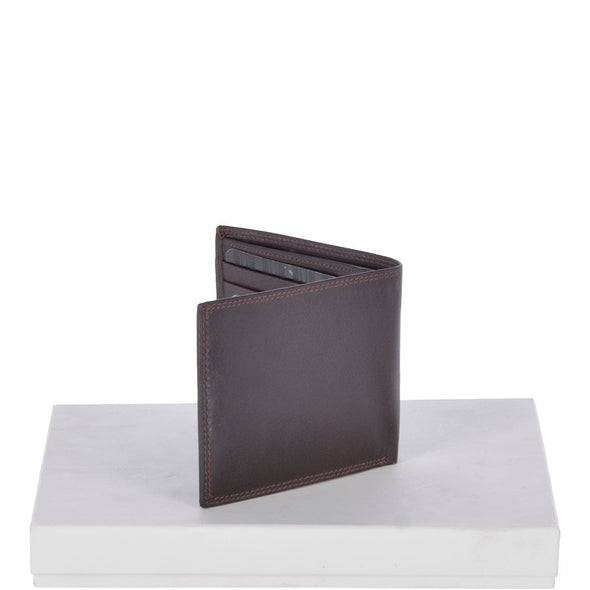 Ashwood Leather Chelsea Classic Smooth Brown Bifold Wallet