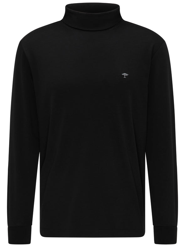 Fynch-Hatton Black Roll-Neck