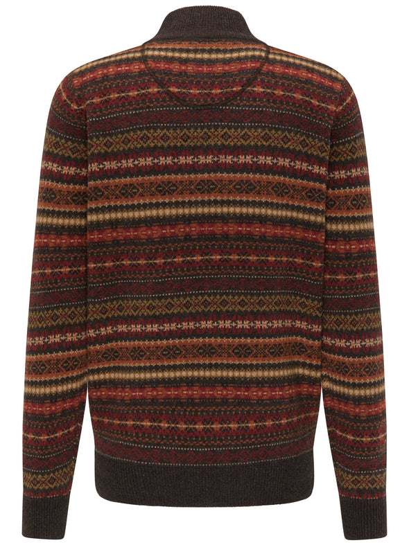 Fynch-Hatton Troy Jacquard Jumper