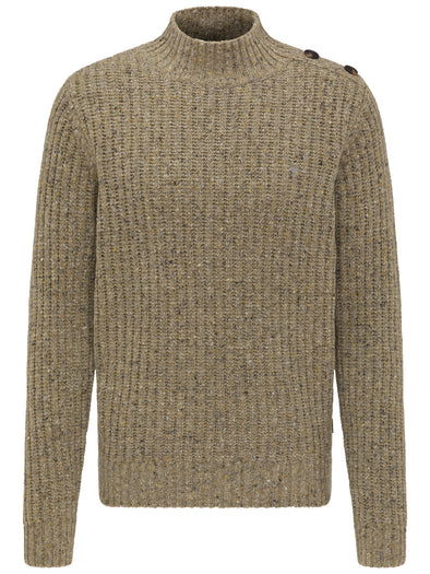 Fynch-Hatton Button Sandy Jumper
