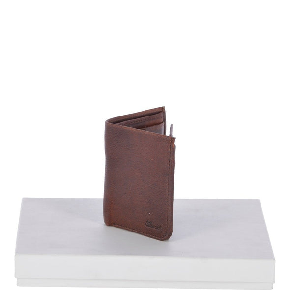 Ashwood Leather Stratford Tan Bifold Wallet With Hidden Notes Section