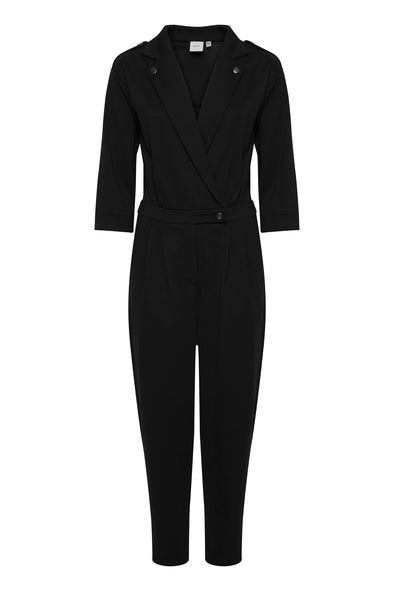 Ichi Kate Trend Black Jumpsuit