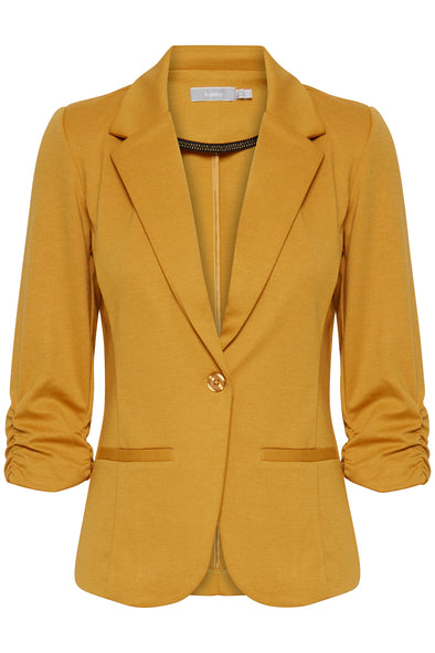 Fransa Zablazer Golden Yellow Blazer