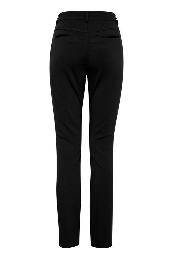 Fransa Lebux Black Trousers