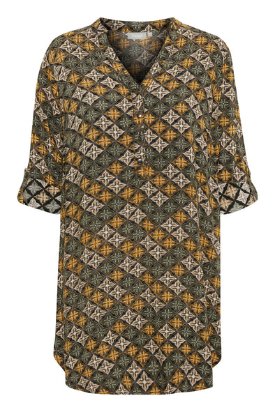 Fransa Maori Rose Mix Colour Tunic