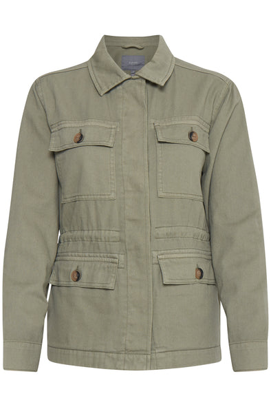 B Young Bybolco Sea Green Jacket