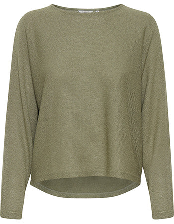 B Young Bysif Green Jumper