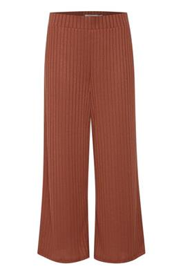 B Young Red Bysimoni Ribbed Culottes