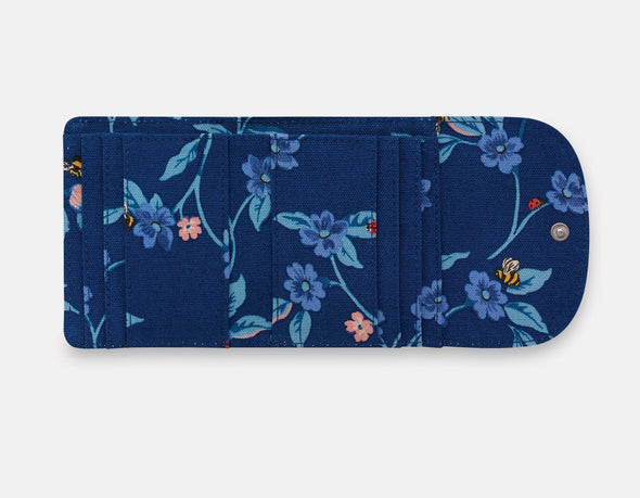 Cath Kidston Greenwich Flowers Small Folded Wallet