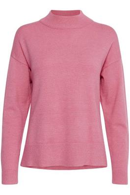 B Young Bynonina Pink Turtle Neck Jumper