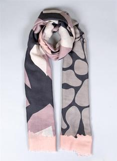 DENTS Tonal Abstract Scarf