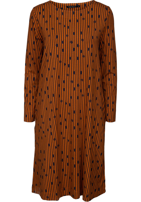 Two Danes BONNIE Caramel Dress