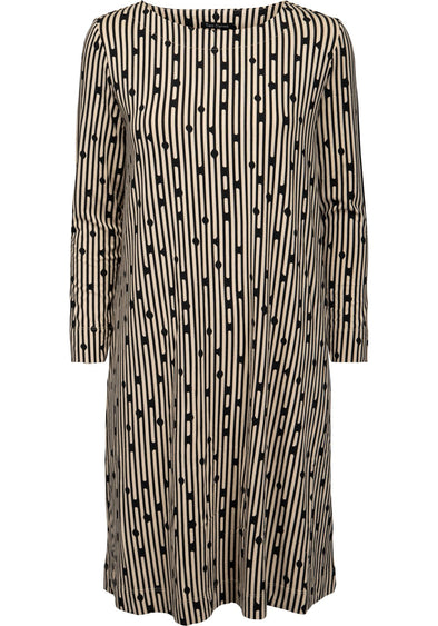 Two Danes BONNIE Safari Black Dress