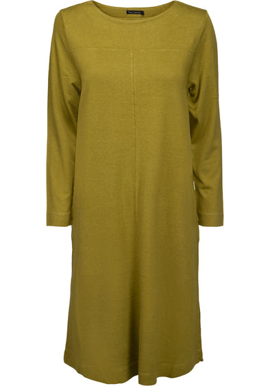 Two Danes HARLEY Green Moss Organic Dress