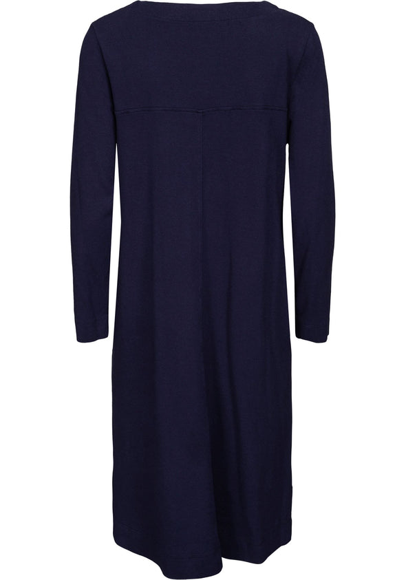Two Danes HARLEY Navy Organic Dress