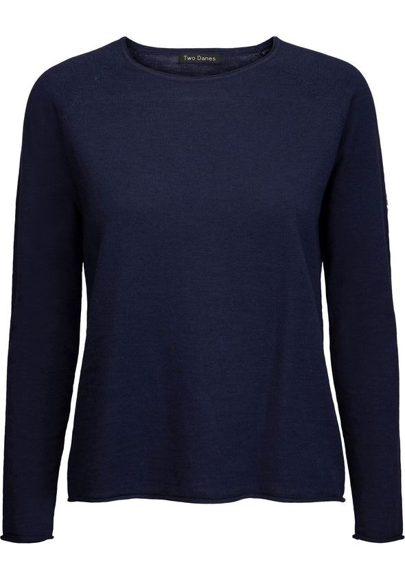 Two Danes ANNIKA Navy Jumper