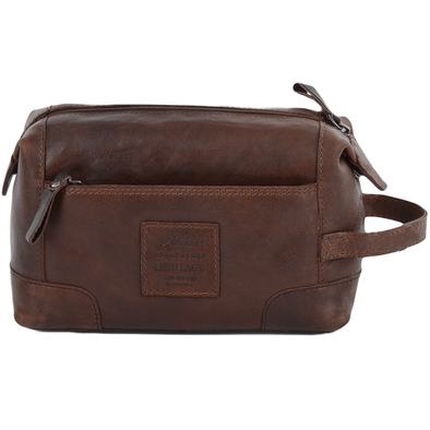Ashwood Leather Stratford Tan Wash Bag