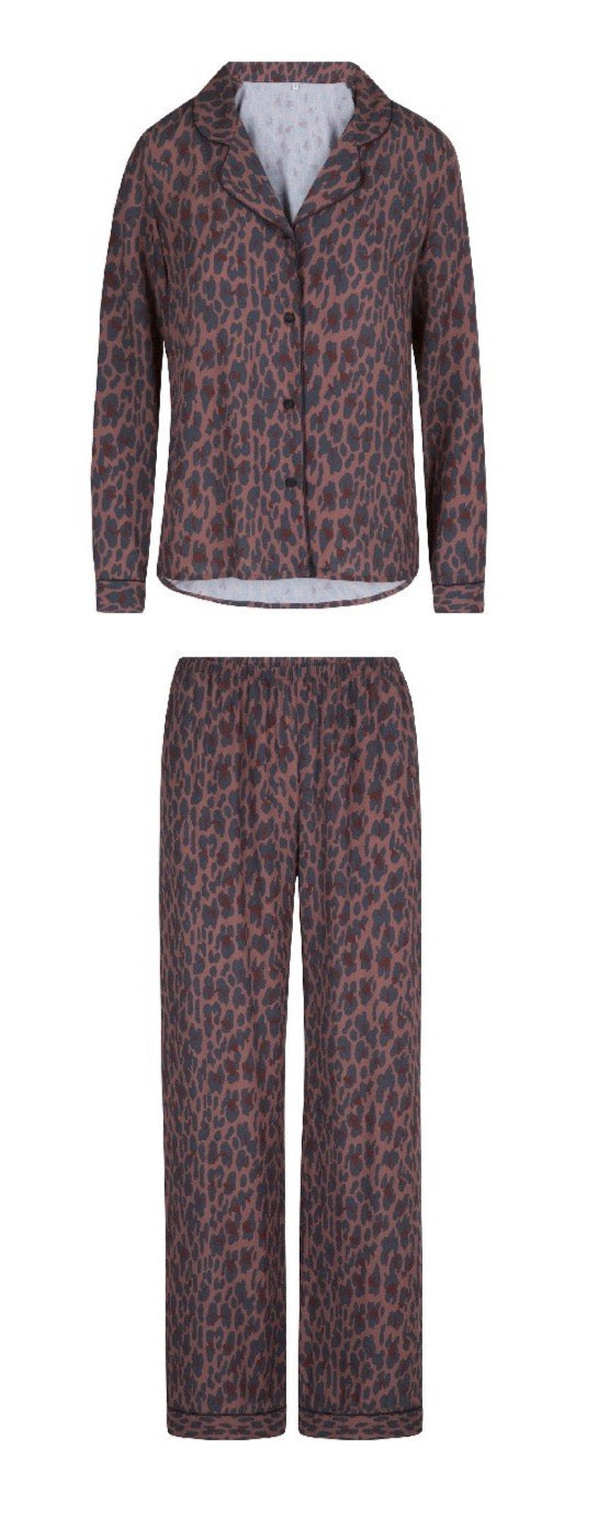 Lingadore Animal Print Viscose Pyjama Set