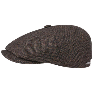 Stetson Hatteras Brown Wool Cap