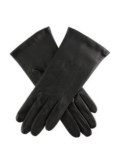 DENTS Women's Black Classic Leather Gloves