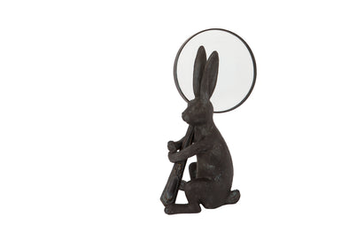 London Ornaments Rabbit Magnifying Glass