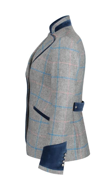 Welligogs Ascot Grey Check Jacket
