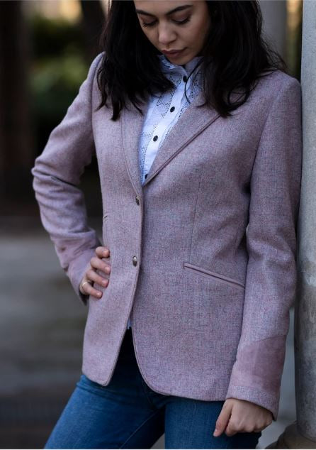 Welligogs Ascot Jacket in Rose Pink
