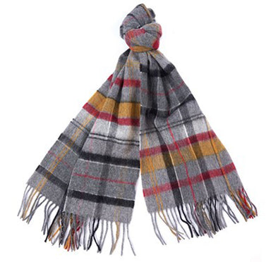 Barbour Mixed Tartan Stripe Scarf