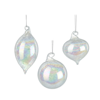 HEAVEN SENDS - Irridescent Glass Bauble Mix