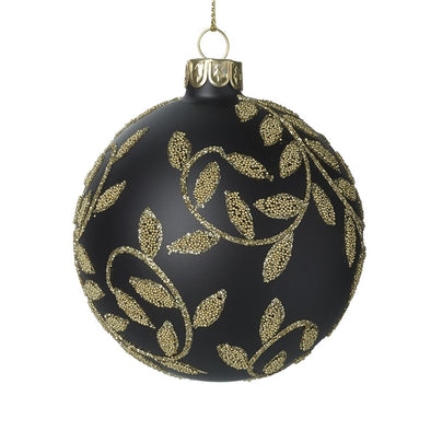 HEAVEN SENDS - Glass Bauble With Decorative Detail
