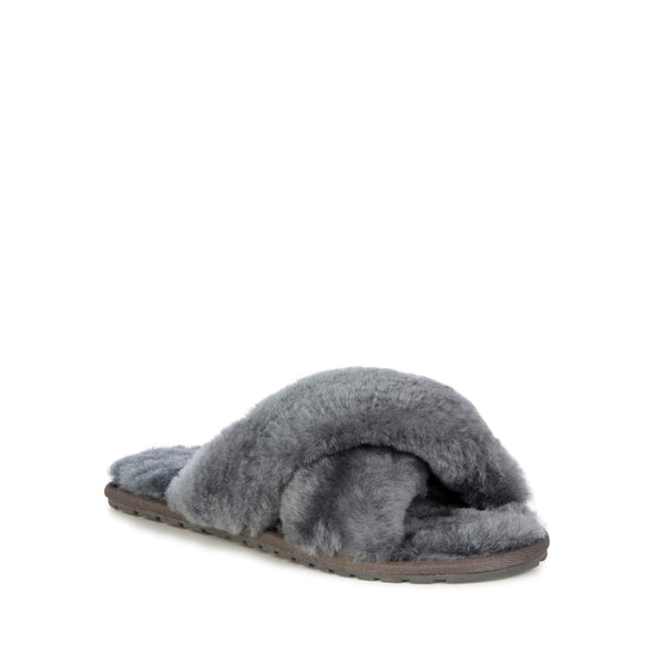 Emu Australia Charcoal Mayberry Slippers