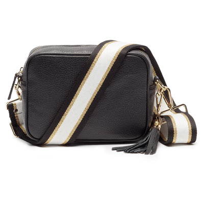 Elie Beaumont Crossbody Black Handbag