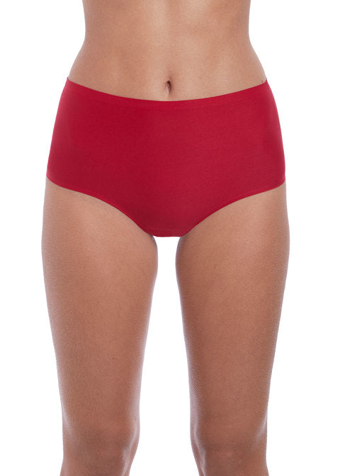 Fantasie Smoothease Invisible Stretch Red Briefs