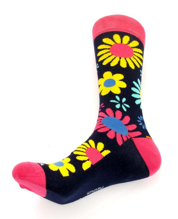 Van Buck Limited Edition Pink Floral Socks