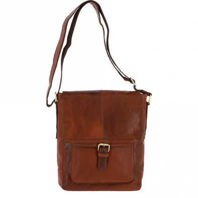 Ashwood Leather Battersea Honey A4 Body Bag