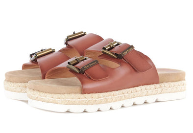 Barbour Lola Cognac Sandals