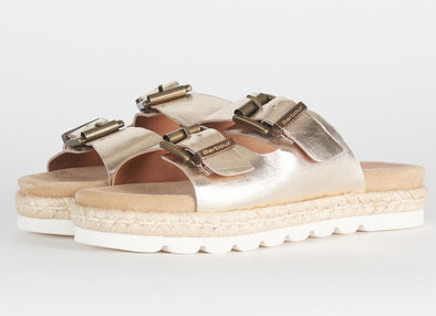 Barbour Lola Gold Sandals