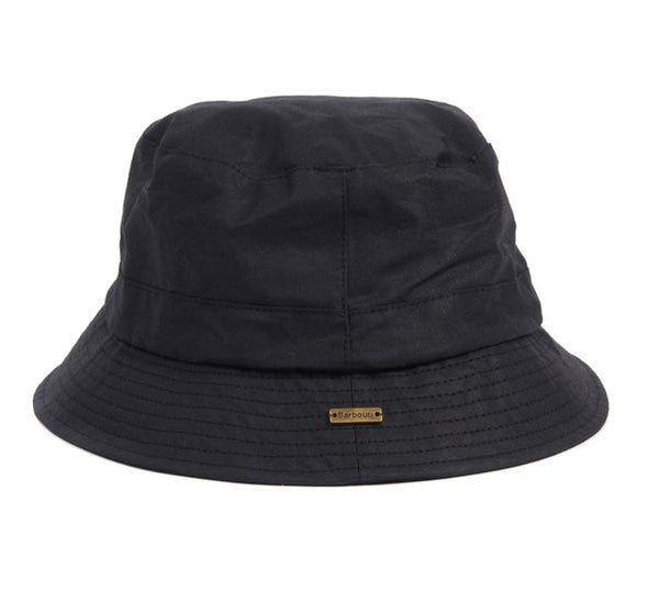 Barbour Dovecote Black Bucket Hat