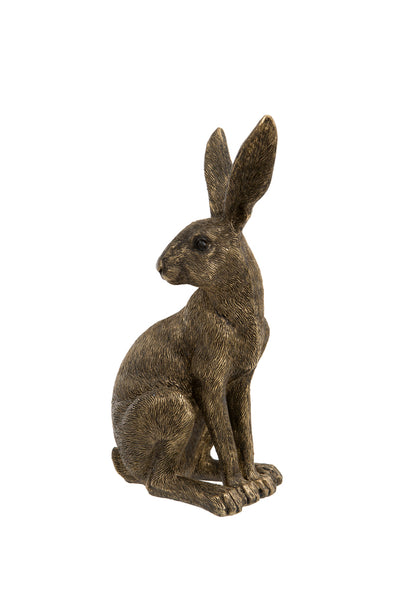 London Ornaments Golden Sitting Hare