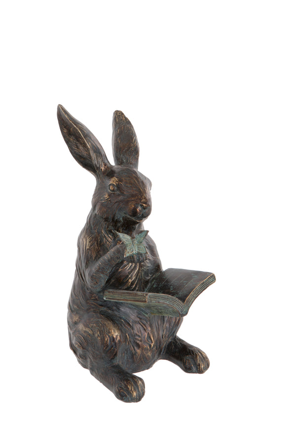 London Ornaments Hare with Book
