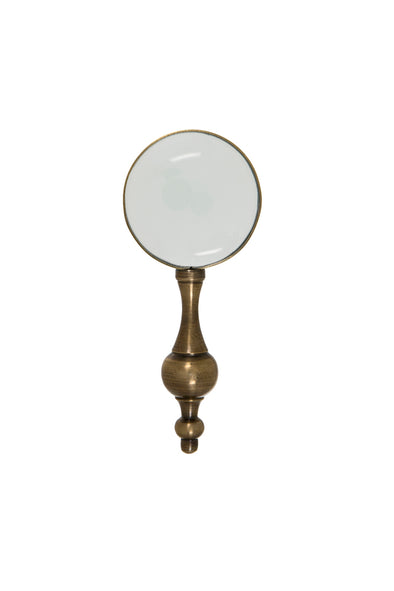 London Ornaments Brass Magnifying Glass