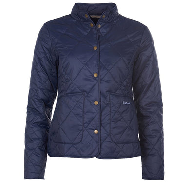 Barbour Morely Navy Quilt