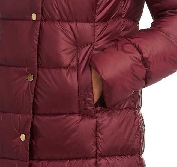 Barbour Earn Quilt Garnet