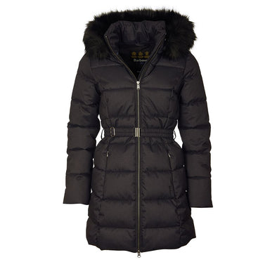 Barbour Oykel Quilted Jacket Black