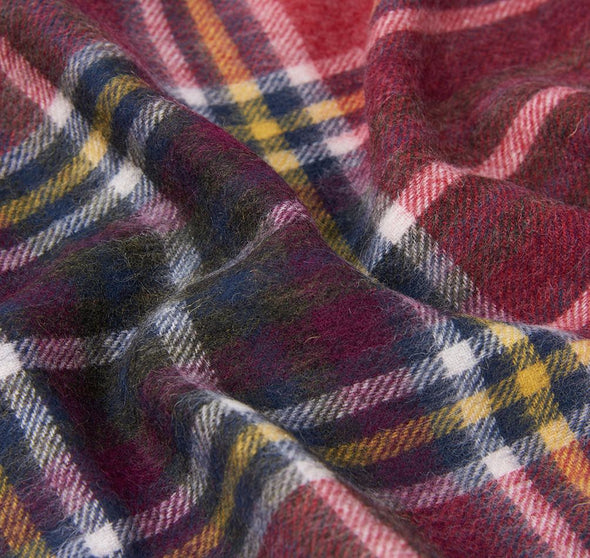 Barbour Lonnen Checked Wrap