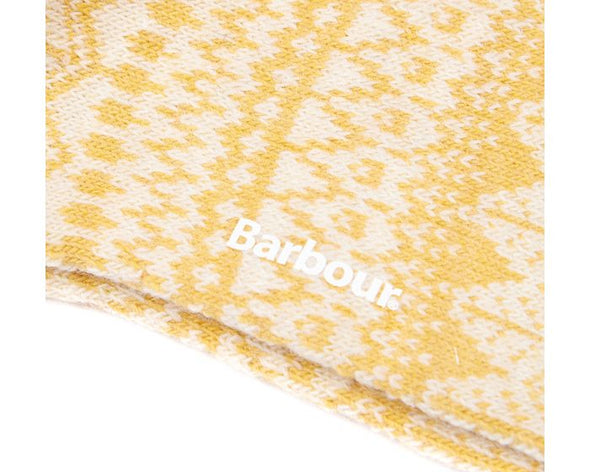 Barbour Alpine Fairisle Golden Spice Socks